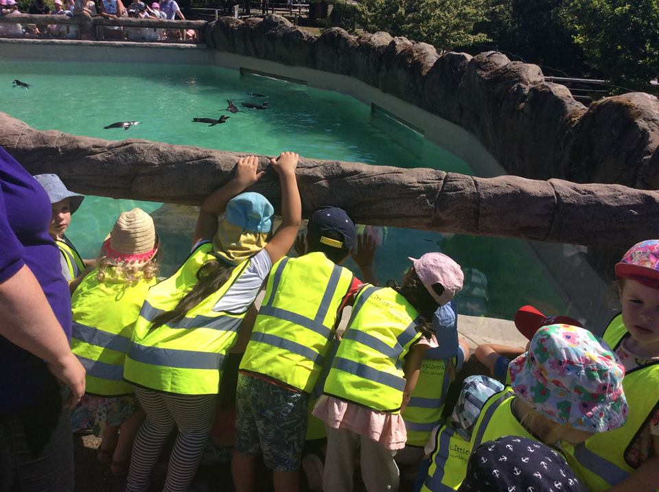 Pre-School Trip to Blackpool Zoo 2